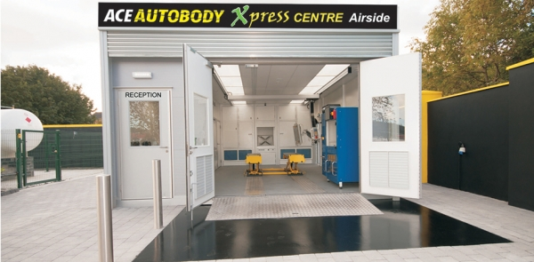 The new Ace Autobody Xpress